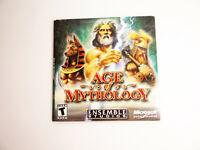 Age of Mythology PC Game 2 CDROM Digi Case Microsoft W/Product Key 2002