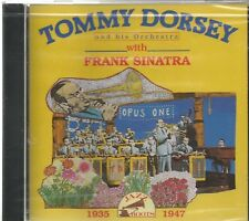 TOMMY DORSEY And His Orchestra - WITH FRANK SINATRA - 1935-1947 - CD - BRAND NEW