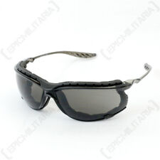 Swiss Eye 'Sandstorm' Glasses - Black - Safety Goggles Paintball Airsoft Army