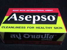 SOAP ANTIBACTERIAL AGENT HEALTHY SKIN  ASEPSO Traditional Green Soap . Skin Hair