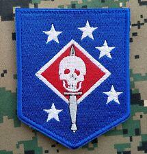 Marine Raiders Infrared Patch - Woodland M81 - MARSOC,USMC,SOF Hook Blue Badge/1