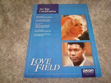 LOVE FIELD 1992 Oscar ad Michelle Pfeiffer for Best Actress, Dennis Haysbert