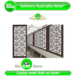 Tokyo - Australia Made Privacy Wooden Outdoor Garden Screens - 600x1200mm