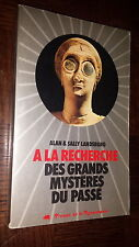 A LA RECHERCHE DES GRANDS MYSTERES DU PASSE - A.& S. Landsburg 1978 - OVNI UFO