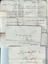 1838/43  3 QUEEN's BENCH COURT CASE LETTERS > PENISTONE