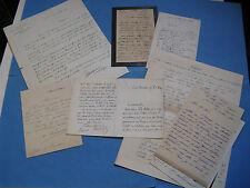 BON LOT 9 Autographes 1880 HISTORIENS FRANCHE-COMTE SEINE BARON DE FINFE MORIZE