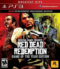 NEW Red Dead Redemption (Game of the Year Edition) (Playstation 3)