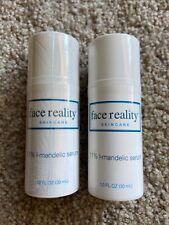 Face Reality L-Mandelic Serum x2. One Unopened & One Partially Used.
