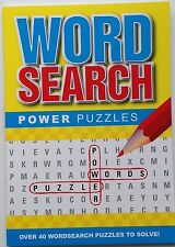 Word Search / wordsearch Power Puzzle Book - yellow cover
