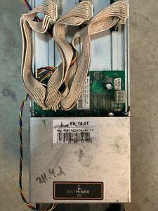 Bitmain Antminer S9 (14.0T) BTC Miner (No PSU) SHIPS FROM USA