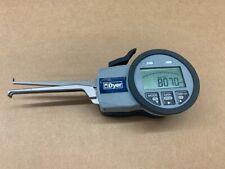 Dyer 650 002 Electronic Groove Gauge Id 10 20 Mm Mahr Spi Intertest Bore Caliper