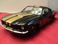 Jada 1967 Shelby Mustang GT500   1:24 Scale  new no box  2014  release black