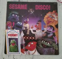 EX Sesame Street – Sesame Disco! (1979) CTW 79008 US  Vinyl, LP, Album