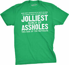 Jolliest Bunch of A-holes T-Shirt Funny Christmas Vacation Tee