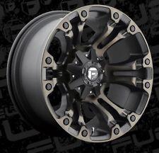 Fuel Vapor D569 20x9 8x6.5 ET1 Black Machined Tint Wheels Rims (Set of 4)