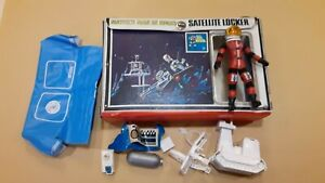 Major Matt Mason Satellite Locker LOT Mattel 1968