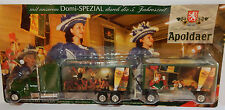 GRELL HO 1/87 CAMION REMORQUE TRUCK FREIGHTLINER TRAILER BREWERY APOLDAER BEER