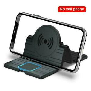 15W QI Wireless Car Phone Charger Fast Charging Pad Mat For Z2R5 12