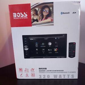 """Boss 320-Watt 6.2"""" Touch Screen DVD/CD Bluetooth SD Car Stereo Receiver"""
