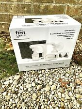 NEW - The First Years Quiet Expressions Double Electric Breast Pump - Sealed!
