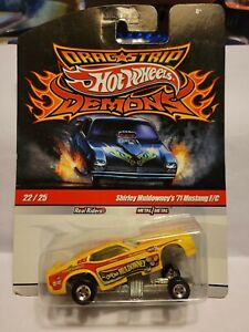 Hot Wheels ~ Drag Strip Demons ~  Shirley Muldowney '71 Mustang F/C
