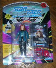 "Star Trek DR BEVERLY CRUSHER 4.5"" Action Figure 1993 5+ Carded Playmates"