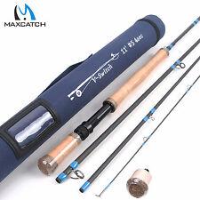 Maxcatch 5WT Switch Rod 11FT Graphite IM10 Medium Fast Fly Fishing Rod, Rod Tube