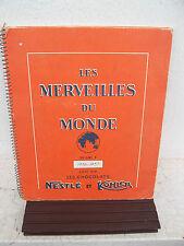 Album Nestlé / Kohler : les merveilles du monde ( 1956 / complet  )
