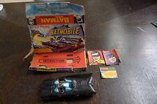 CORGI Toys Vintage 60s Batmobile with Batman and Robin Figure 1st Issue