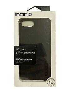 Incipio DualPro Series Case for iPhone 8 Plus iPhone 7 Plus 6 Plus - Matte Black