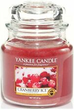 Yankee Candle Medium Jar Cranberry Glaçon 411g