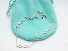 Tiffany & Co. Sterling Silver Infinity Endless Bracelet
