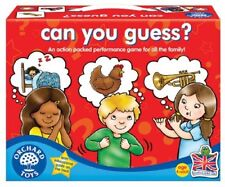 Orchard Toys Educational Games - Can You Guess - Brand New