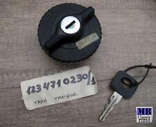Genuine NOS Mercedes Benz fuel gas cap w/ locking R107 W123 W110 W114 1234710230