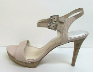 Vince Camuto Size 10 Blush Open Toe Heels New Womens Shoes
