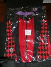 Harley Quinn Joker Reversible Cosplay Costume Corset Xl Nwt Hot Topic