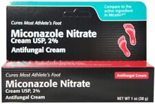Miconazole Nitrate 2% Antifungal Cream 1 oz