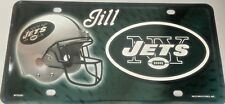 New York Jets License Plate Engraved NFL Personalize Custom NY Jets Vanity Plate