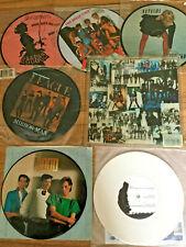 "7 x PICTURE DISC  7"" VINYL SINGLES. RECORDS. VARIOUS ARTISTS"