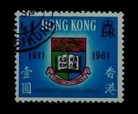 HONG KONG  1961 UNIVERSITY OF HONG KONG Golden Jubilee  1911-1961  D001
