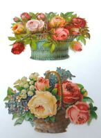 Beautiful Victorian Flower Floral Die Cuts For Scrapbooking