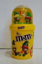 M&Ms M&M SNOW BALL SNOWBALL PROMOTIONAL CHRISTMAS EMPTY CUP FIGURES EUROPEAN