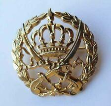 Vintage Rare Jordan Jordanian army military beret badge pin transjordan medal