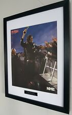 The Stone Roses-Framed Original NME-Certified Ian Brown Oasis I Wanna Be Adored