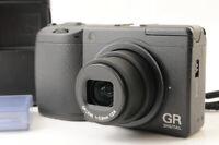 【TOP MINT 3512 Shot】RICOH GR Digital II 10.1MP Digital Camera Black From JAPAN