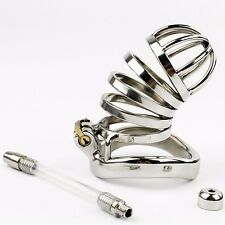 us276-1New Male Chastity Device Long Bird Cage Stainless Steel cage