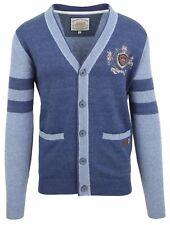 VAN SANTEN & VAN SANTEN Strickjacke Cardigan Größe L 100% Baumwolle Cotton Blau