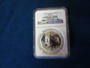 2013-P Tuvalu $1 Griffin 1oz .999 Fine Silver NGC PF69 Ultra Cameo Early Release
