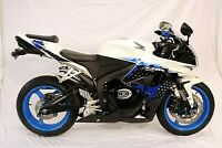 R&G Black Crash Protectors - Aero Style for Honda CBR600RR 2009