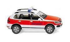 EMERGENCIAS-VW TOUAREG Wiking 007118 ESCALA H0 1:87 Coche a Modelo de
